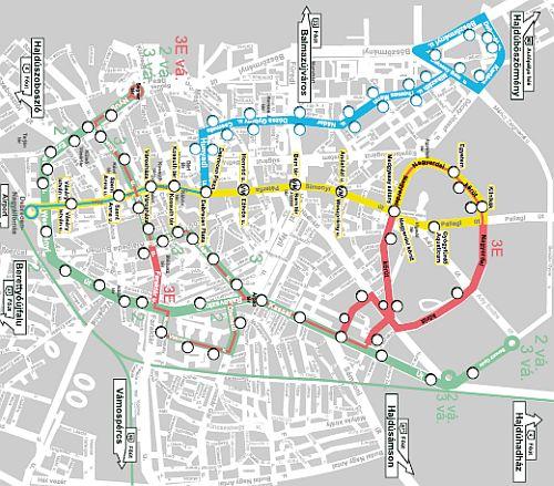 debrecen villamosvonal térkép Magyarország 2013: debreceni jövőképek debrecen villamosvonal térkép